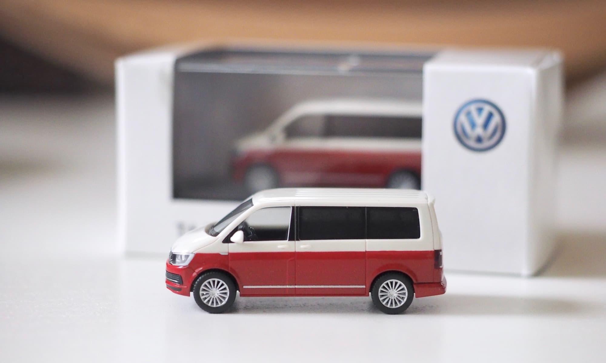 Das VW T6 Herpa 1:87 Modellauto | Foto: BulliT6.de